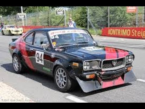 Mazda RX-3 racing car