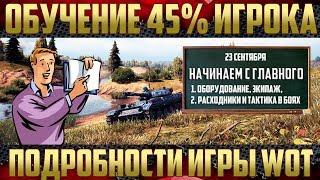 Обучение 45% игрока - Полный онлайн курс