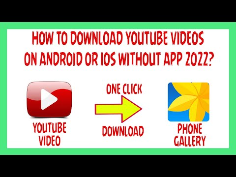 How To Download YouTube Videos On Android Or iOS Without App? 2021