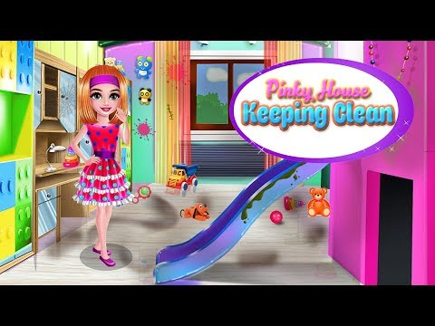 Vidéo Pinky House Keeping Clean