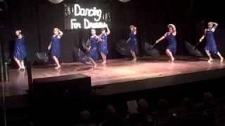 """""""It's Raining Men"""" Dancing for Dreams 2009"""