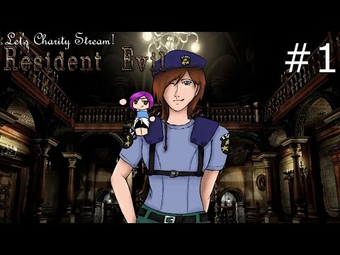 Charity Stream Time! Resident Evil Remake HD   01   Fitting into a Sandwich