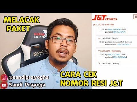 Cara Melacak Nomor Resi J&T Untuk Mengetahui Paket Sudah Sampai Mana