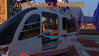 Emergency Air Ambulance Services from Bhubaneswar to Delhi by Hifly ICU