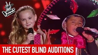 Gambar cover The Voice Kids | CUTEST Blind Auditions worldwide [PART 1]