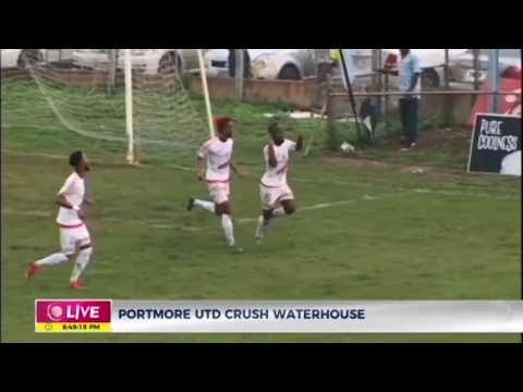 Portmore United crushes Waterhouse