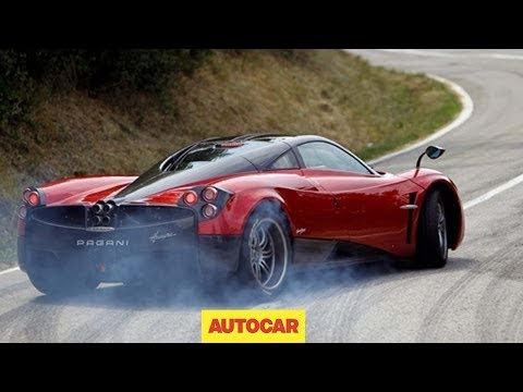 Pagani Huayra Road Test