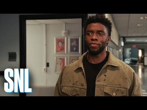 SNL Host Chadwick Boseman Does Not Have Any Vibranium