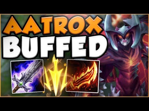 HOW STUPID IS THIS NEW LETHAL TEMPO AATROX?! NEW AATROX SEASON 8 TOP GAMEPLAY! - League of Legends