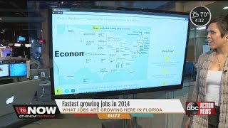 What are the fastest growing jobs in Florida? In the country? #TheNowTampaBay