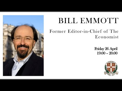 Bill Emmott | Former Editor-in-Chief of The Economist | Cambridge Union