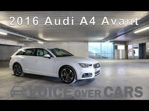 2016 Audi A4 Avant Fahrbericht | Test | Review | Tech Check | Kofferraum
