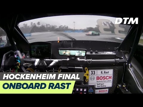 DTM Hockenheim Final 2019 - René Rast (Audi RS 5 DTM) - RE-LIVE Onboard (Race 2)