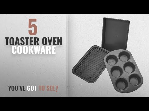 Top 10 Toaster Oven Cookware [2018]: Chicago Metallic Professional 4-Piece Non-Stick Toaster Oven