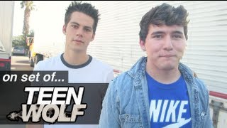 On set of... TEEN WOLF