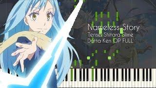 [FULL] Nameless Story - Tensei Shitara Slime Datta Ken OP - Piano Arrangement [Synthesia]