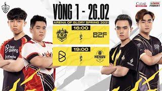 TRỰC TIẾP: BOX GAMING vs HEAVY - Vòng 1 ngày 2 | ĐTDV mùa Xuân 2021