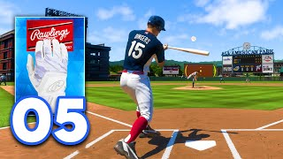 MLB 21 Road to the Show - Part 5 - FIRST DIAMOND EQUIPMENT PURCHASE