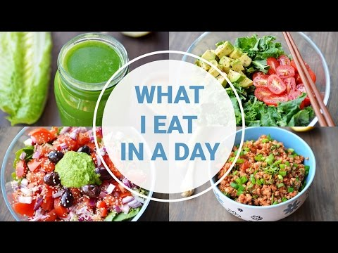 Video What I Eat In A Day | HEALTHY VEGAN RECIPES