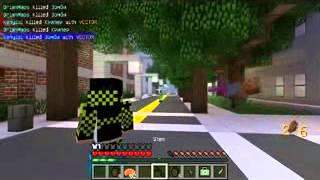 Minecraft Grand Theft Auto 5! Ограбление цыпочек GTA V 2
