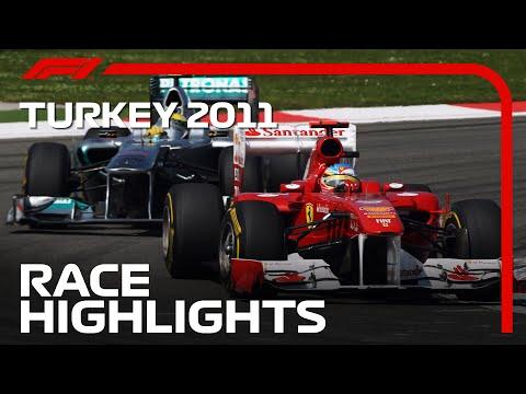 F1 トルコGP 2011年に行われた過去のトルコGPで忘れられないレースハイライト動画