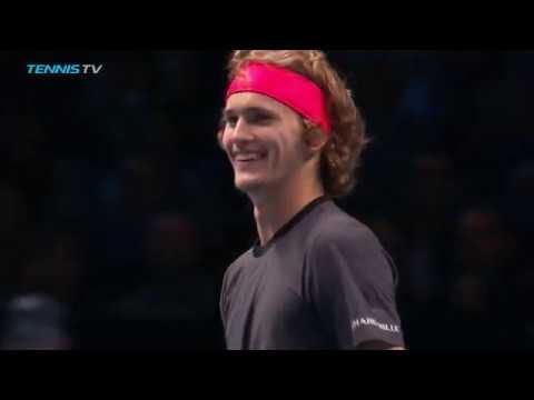 Funny Moments in Zverev vs Isner | Nitto ATP Finals 2018