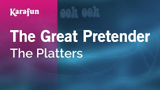 Karaoke The Great Pretender - The Platters *