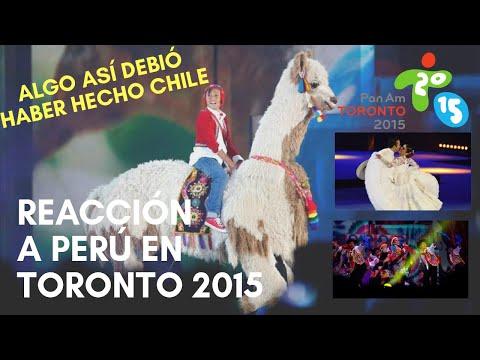 Reacción a Perú en Ceremonia de Clausura Toronto 2015