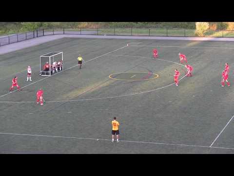 Field Hockey goals against ECSU 9/16/15