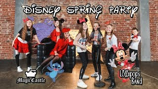 Disney Spring Party 2018 @Moscow  feat. Lollipops Band