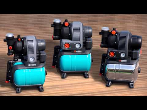 GARDENA Bewässerung | Hauswasserwerke & Hauswasserautomaten
