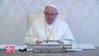 Papst Franziskus gratuliert Bistum in Madagaskar zu neuer Josefs-Kathedrale