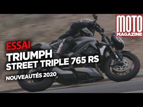TRIUMPH STREET TRIPLE 765 RS ABS