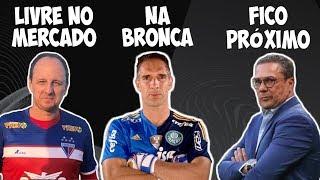 Renovação de Luxa no Vasco / Rogério Ceni disputado / O motivo da bronca de Prass no Palmeiras