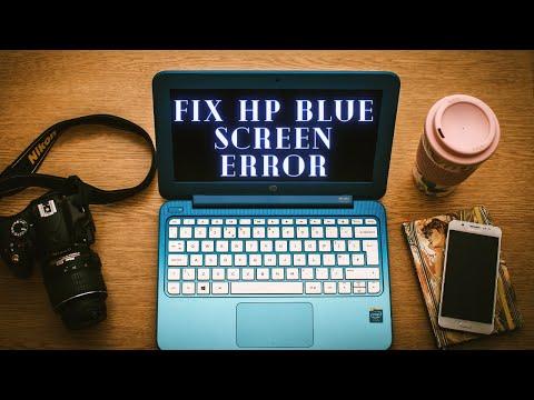 Blue Screen Error   HP Stream Laptop Blank Blue Screen Error    FIX