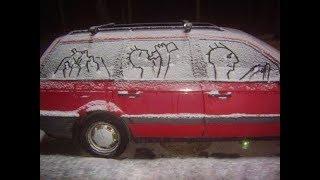 Прикольные авто в Америке. Машины с яйцами, ресницами, хвостами :)