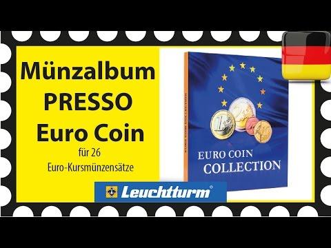 Münzalbum PRESSO Euro Coin Collection, Leuchtturm 346511