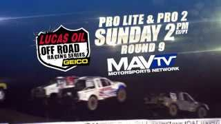 Lucas Oil Off Road Racing Series Round 9 Pro Lites & Pro 2s