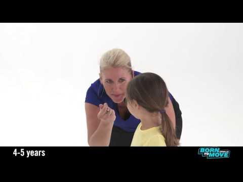 Massaggio allatto di violazione di un portamento a bambini di video