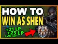 WIN BY HELPING YOUR TEAM S9 Shen Top vs Aatrox Unranked to Challenger EP 17