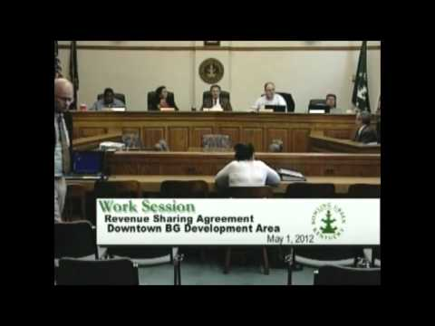 5/1/12 Board of Commissioners Work Session