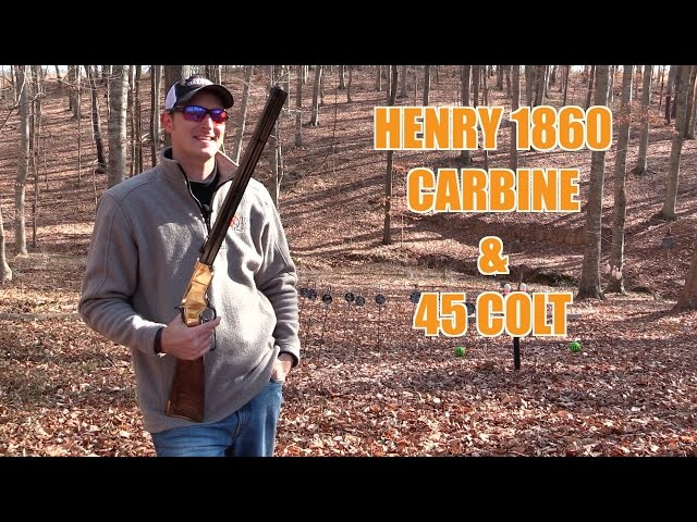 The .45 Colt and New Original Henry Carbine Review