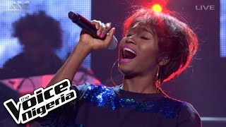 "Linda 1nneka Sings ""Man Down""  Live Show  The Voice Nigeria 2016"