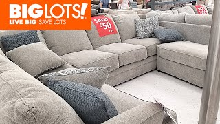 BIG LOTS FURNITURE  Sofas Chairs Home 50% Off Furniture Shop With Me Shopping Store Walk  through