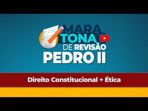 Aulão Revisão - Colégio Pedro II 2019 - Direito Constitucional + Ética - Maurício Soares