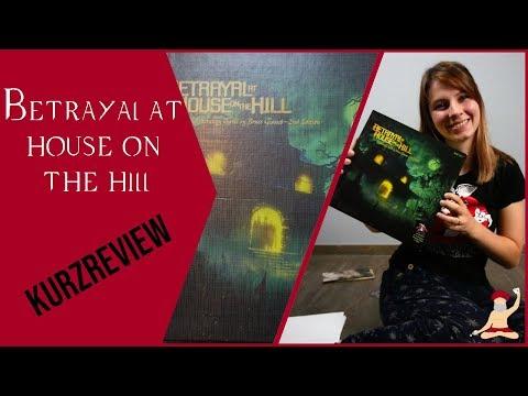 Betrayal at House on the Hill Kurzreview auf Deutsch