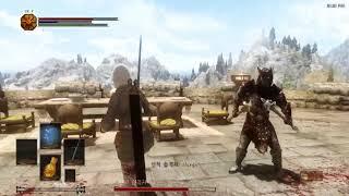 Skyrim - Dark Souls Combat mod