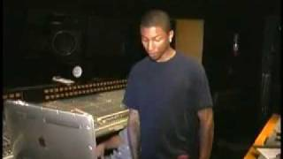 "Pharrell In Studio with 702 for a ""Star"" song [PART 5]"