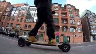 Electric Longboard (Part 2) - Evin Jean Music by MaeckzLL