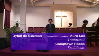 Dylan de Guzman (pf)...Aura Lee    Traditional, Camptown Races  Traditional